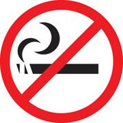 Cigarro e proibido